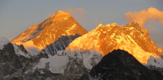 Alpane Glow in Mount Everest