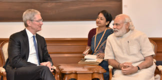 Apple CEO Cook Meets India PM Modi