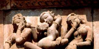 Art of Love Making - Khajuraho Chitrasana