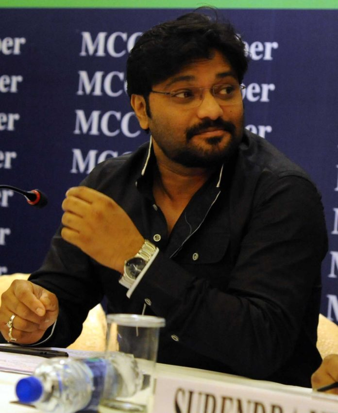 Minister of State for Urban Development, Housing and Urban Poverty Alleviation, Babul Supriyo