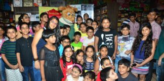 Geronimo stilton's visit at Starmark