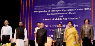 President Pranab Mukherjee - Smart President Estate App Launch
