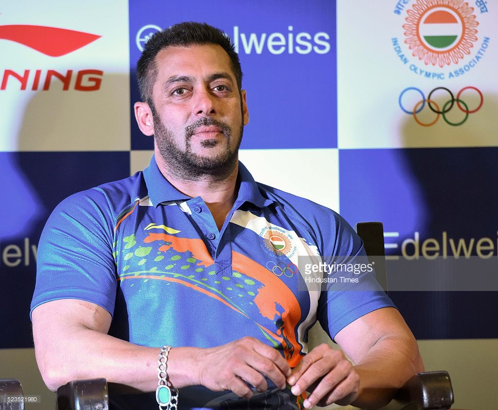 Lets Cheer For Lalita Babar Salman Khan Supports Indian Olympic