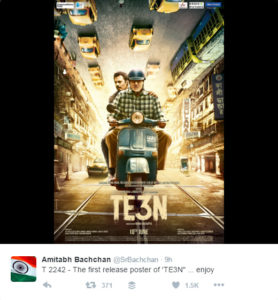 TE3N Poster from official Tweet