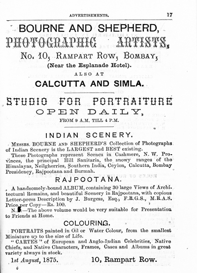 Samuel Bourne - Hunters and Trophies India-