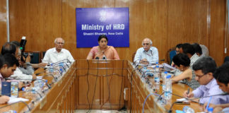 Foreign Collaboration for Universities - Smriti Irani in New UGC Regulation meeting