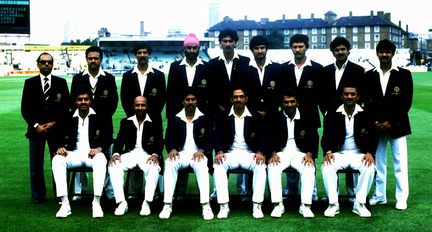 Kapil Dev & Indian Team - World cup 1983