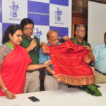 Manjusha Unveils First Men's Baluchari shirt
