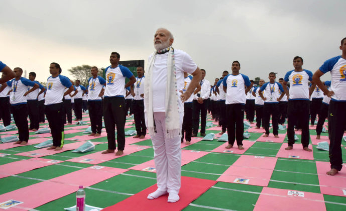 Modi - International Yoga Day
