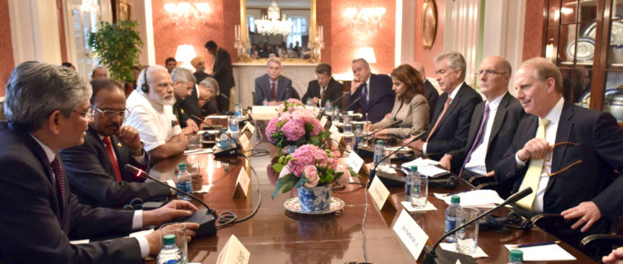 PM Modi With US Think Tank