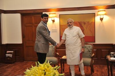 PM Modi and Raghuram Rajan - RBI