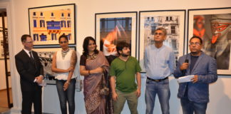 Inauguration of photography exhibition of Kounteya Sinha , STONE – Being and Becoming at The Harrington Street Arts Centre till July 6.