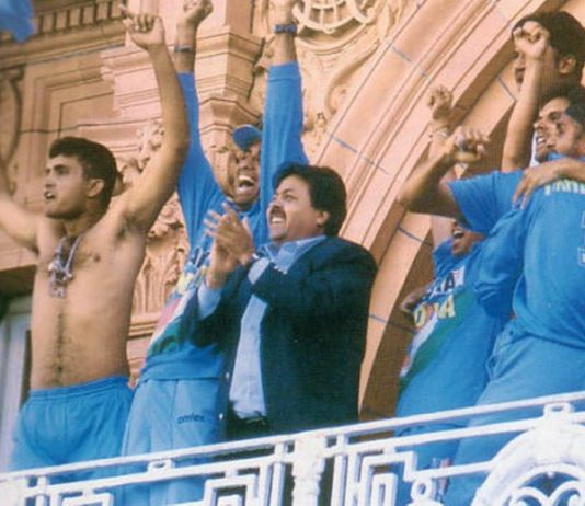 Sourav Ganguly - Lord's Natwest Trophy Final Win