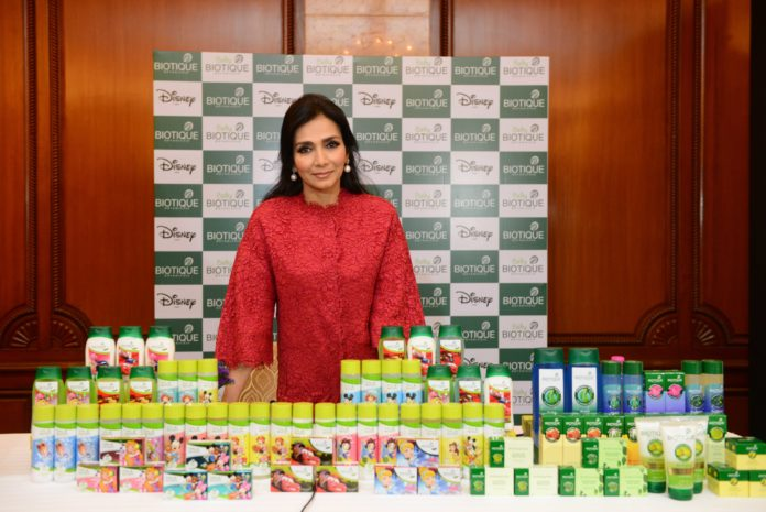 Vinita Jain, Chairperson & MD, Biotique- unveils new product line