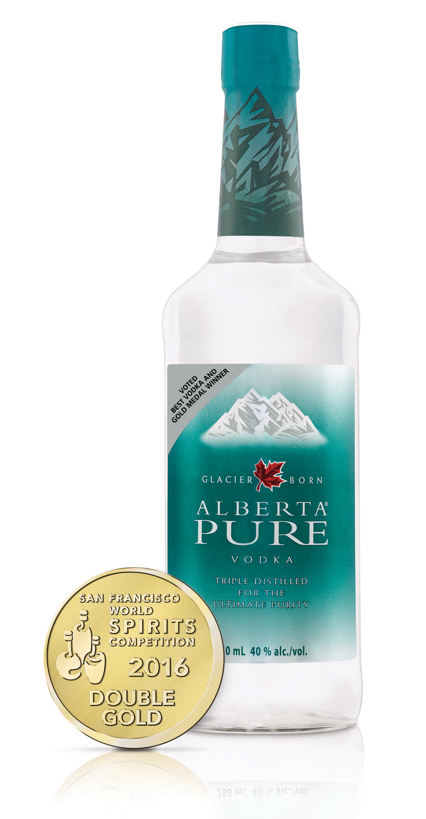 Alberta Distillers Ltd - Alberta Pure Vodka wins Double Gold at 2016 San Francisco World Spirits Competition