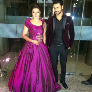 Divyanka and Vivek on second Reception