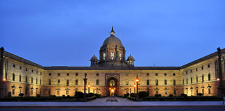 Indian President House - RASHTRAPATI BHAVAN
