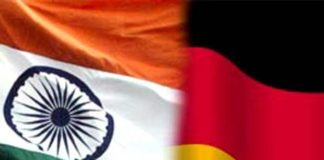 Indo German Flag