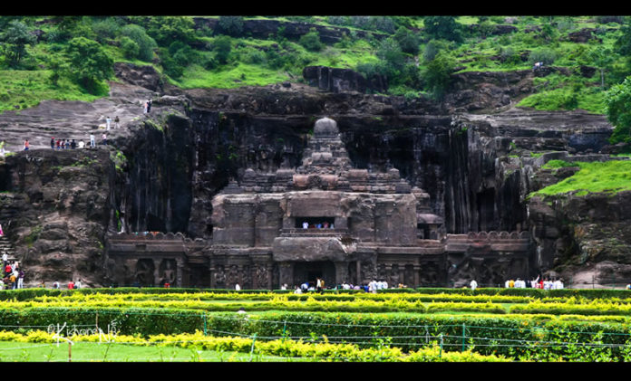 Kailash Temple - Ellora,India
