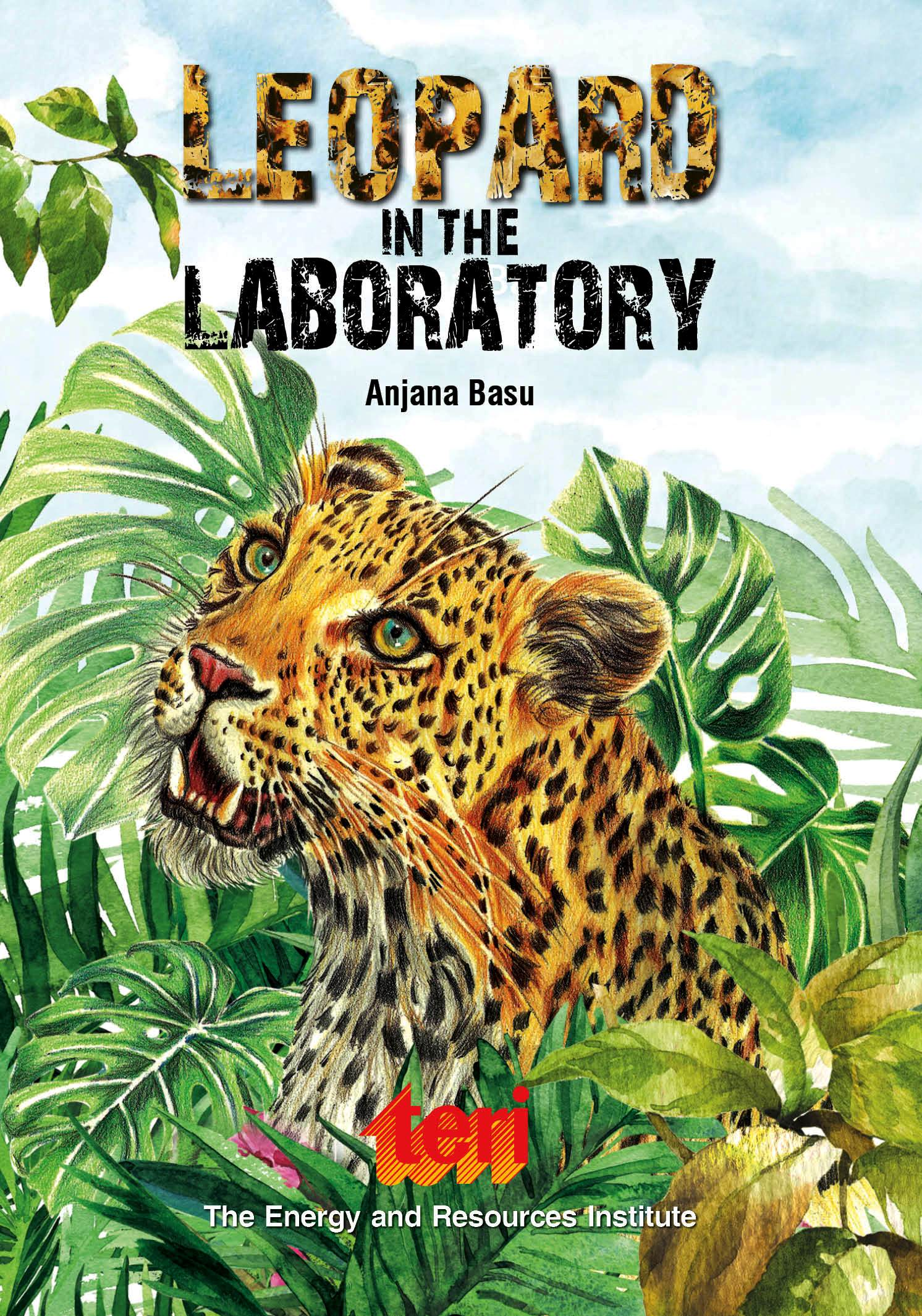 Book Cover of 'Leapord in the Laboratory'.