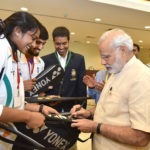 PM Modi - Rio Olympics Indian Team Autograph