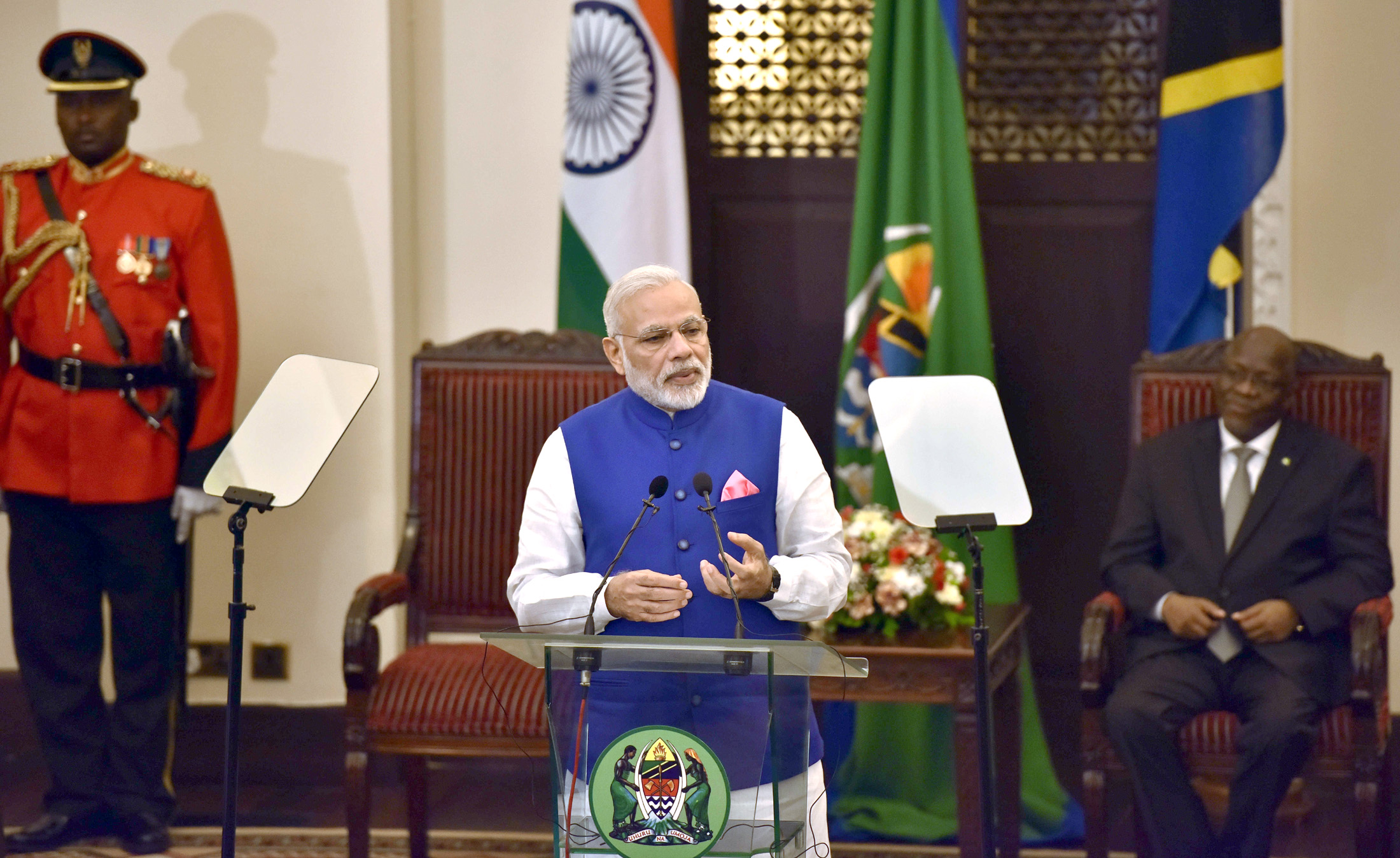 PM Modi - Tanzania Press Meet