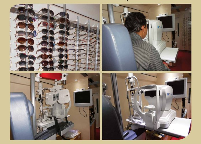 'Retail on Wheels' - First of its kind mobile eye-care service by Lawrence and Mayo.