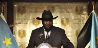 Salva Kiir - President South Sudan