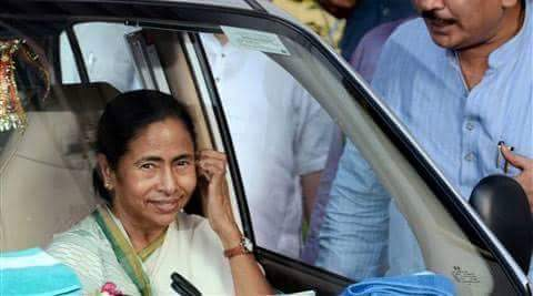 Mamata Banerjee in 21 July 2016 Rally