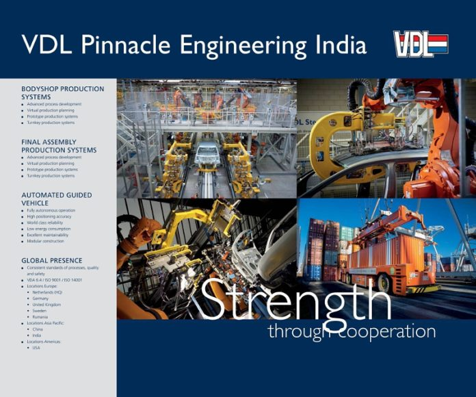 VDL Groep and Pinnacle Industries announce Joint Venture to provide specialized engineering services for production automation industry globally