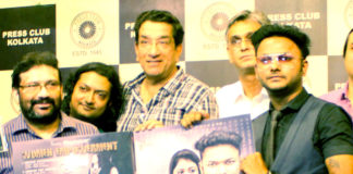 Actor Sabyasachi with Pratik -Album launch of Women Empowerment