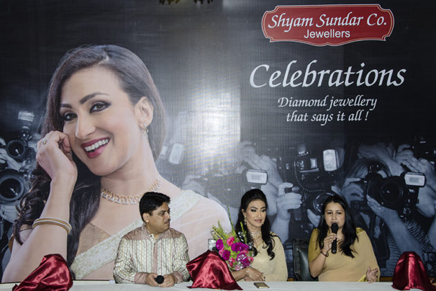 Rituparna Sengupta - Shyam Sundar Co Jewellers Photo By Subhasis Ghosh