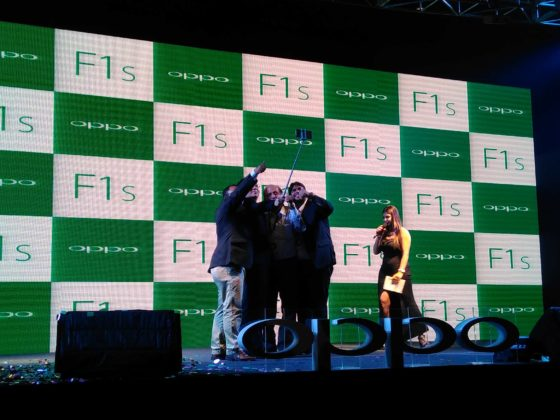 Oppo F1S Launch at Kolkata