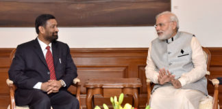 India Nepal Meeting - PM Modi with Nepal's Deputy PM