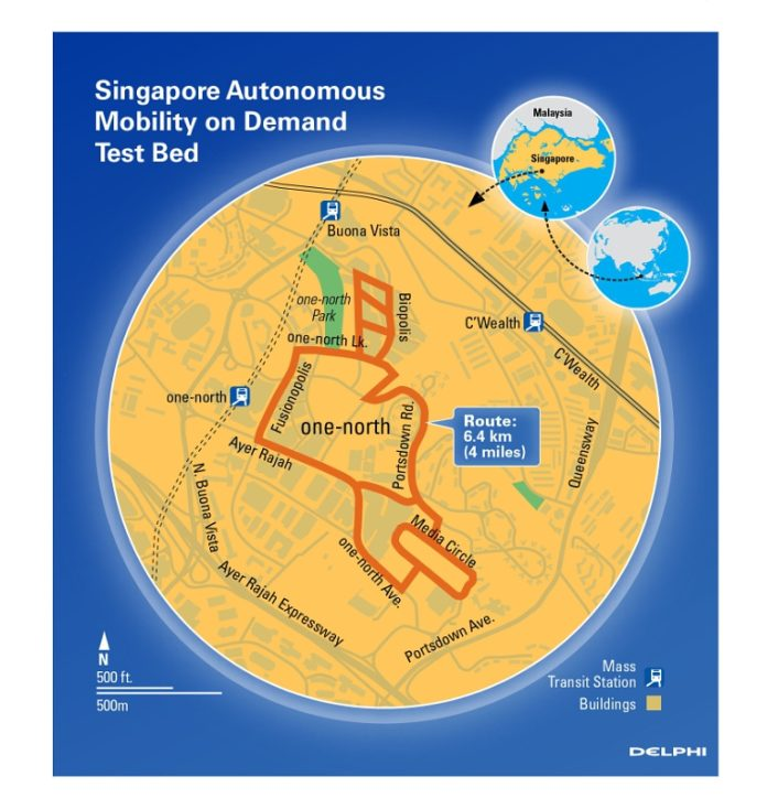 Delphi-AMoD-Test-Bed-Map