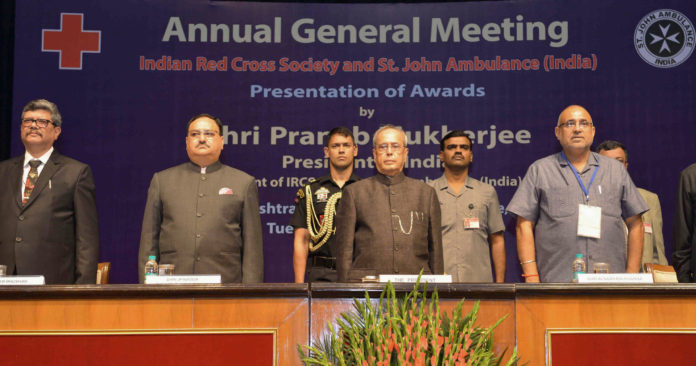 President Of India - Red Cross Annual Meet