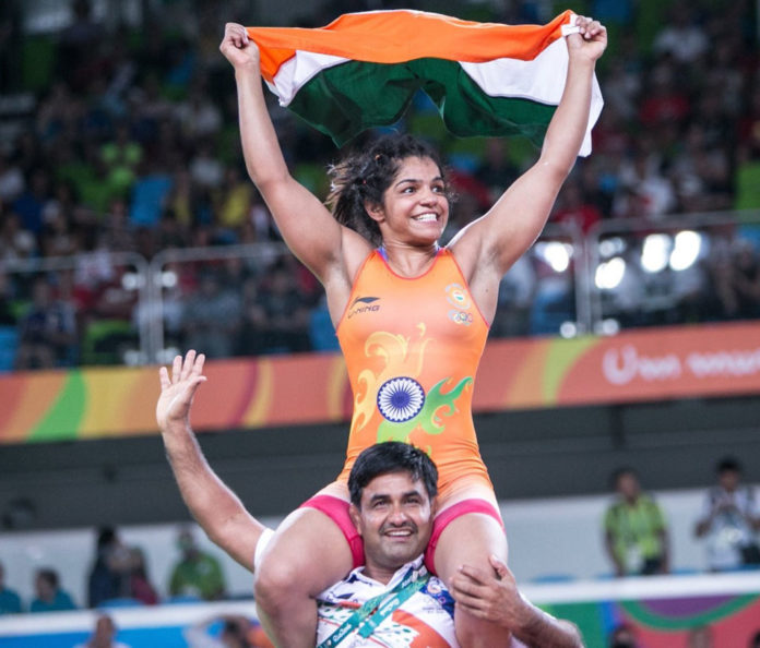 Sakshi Malik - India Won Bronze Medal in Rio 2016
