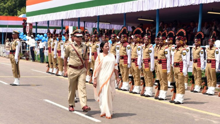 WB CM at Red Road - Independence Day Parade 1