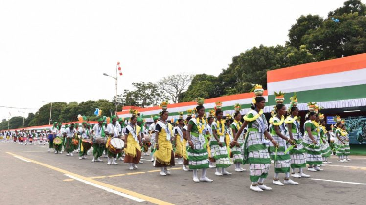 WB CM at Red Road - Independence Day Parade 4