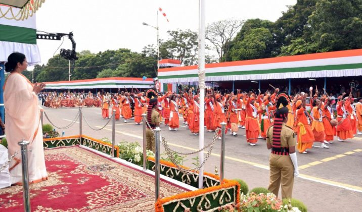 WB CM at Red Road - Independence Day Parade 5