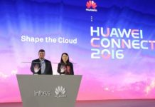 Huawei Diana Yuan and Richard Longo