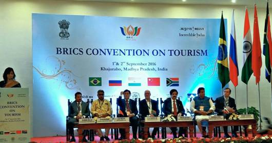 BRICS Convention On Tourism - Khajuraho,India