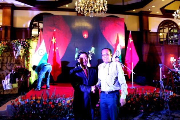 His Excellency Ma Zhanwu Consul General with Suman Munshi,Chief Editor, IBG NEWS