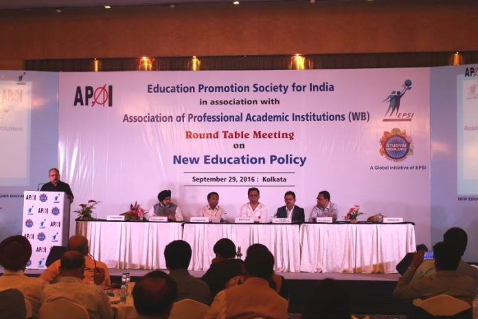 EPSI & APAI New Education Policy Round Table Conference,Kolkata
