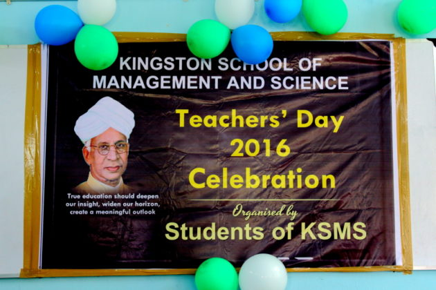 Kingston School of Management and Science - Teachersday