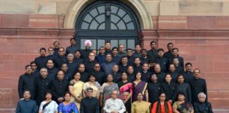 President Pranab Mukherjee - Civil Service Team