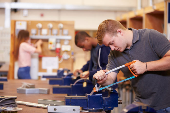 College Students Training in Technical Education