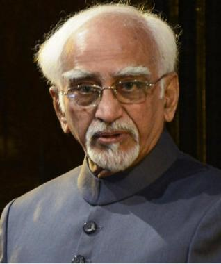 Vice President Hamid Ansari - India