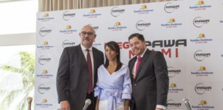 Pawa Dominicana announced its US launch at a press conference on Wednesday, Oct. 26