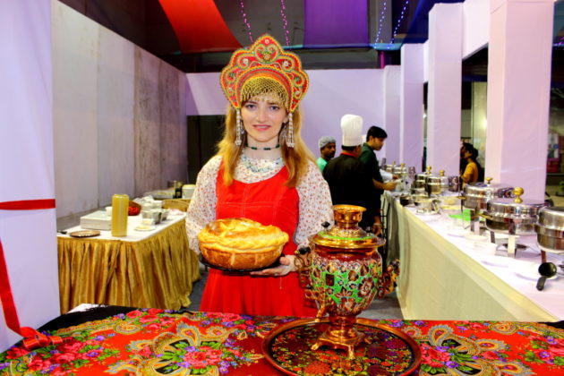 Ahare Bangla 2016 - Russian Stall